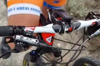 Adjust mountain bike handlebar height