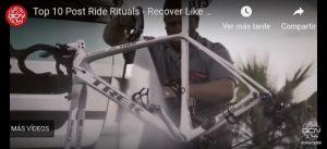 Vídeo recuperación ciclista
