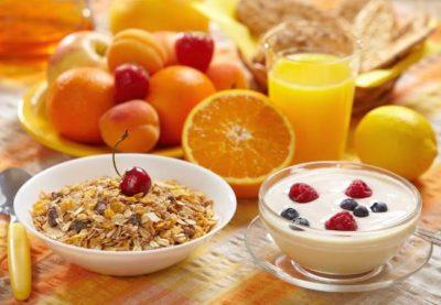 El desayuno en la alimentacion en el ciclismo