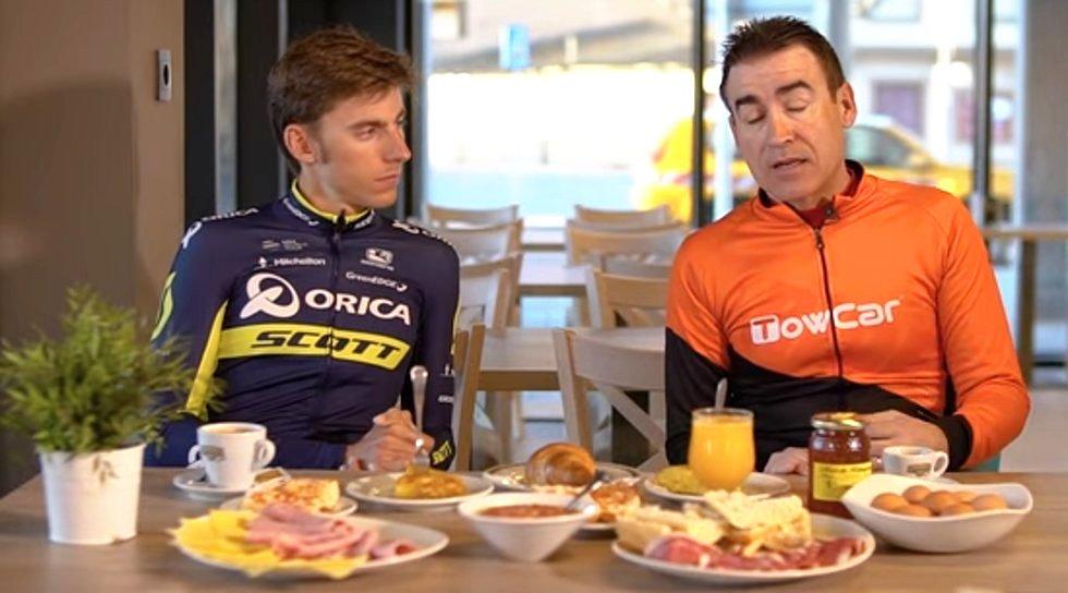 La alimentación ciclista