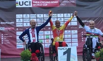 Garrote Campeón mundial en Corridonia