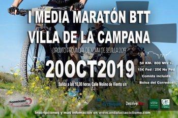 I MEDIA MARATON BTT LA CAMPANA