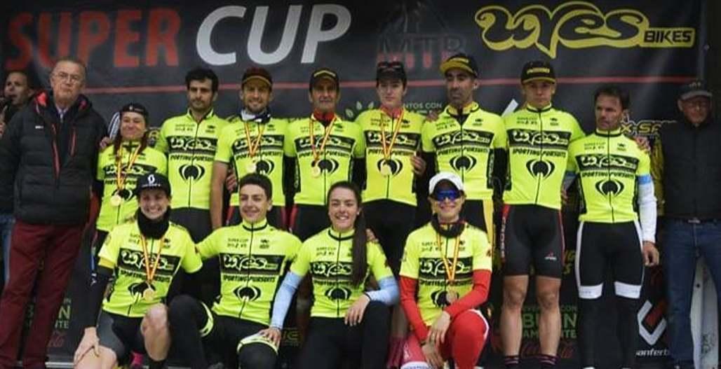 Líderes de la Uves Bikes tras Colmenarejo