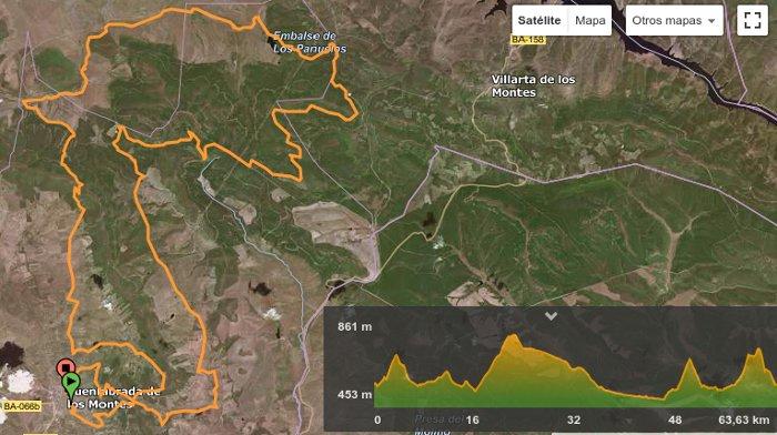 Plano y perfil Media Maratón