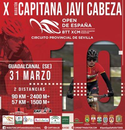 X Maratón Capitana Javi cabeza