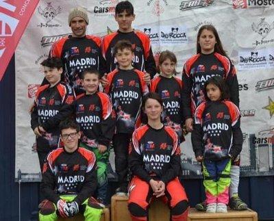 Líderes Copa Madrid BMX