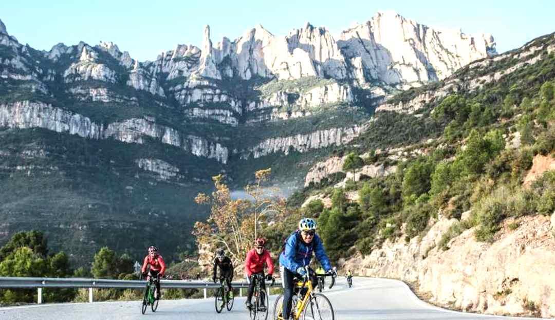 Ciclistas en catalunya - Montserratina 2018