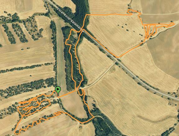 Plano IV Trofeo XCO Crespos